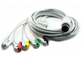 Cabo de ECG para Instramed Cardiomax / Inmax Series - 5 Vias