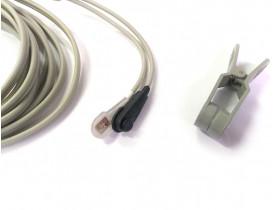 Sensor de Oximetria - Clipe de Orelha - Compatível General Meditech - GMI - NEWTECH