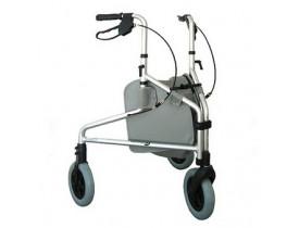Andador 3 Rodas com Porta Objeto Dobrável Comfort SL-309