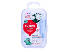 Aspirador Nasal Para Bebês Aspirar Baby com Estojo - LikLuc