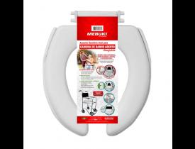 Assento Sanitário para Cadeira De Banho - Aberto - Mebuki