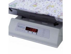 Balança Infantil Digital 30kg com Concha Inox - 109E Baby 30I - Welmy