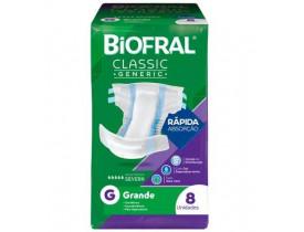 Fralda Biofral Classic Generic G 8 Unidades