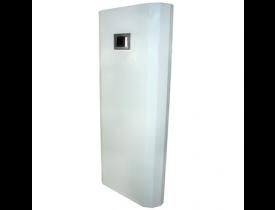 Biombo Radiológico Para Raio-X Curvo de Proteção Plumbífera - Biombo de Chumbo 2 mm - Visor Plumbífero