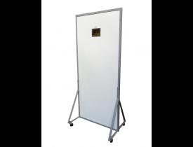 Biombo Radiológico Para Raio-X Biombo de Chumbo 1mm - Reto De Proteção Plumbífera com Visor Plumbífero
