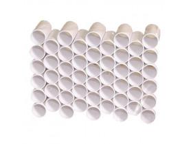 Bocal Descartável para Espirometria Nº 01 (28mm) - 500 Unidades