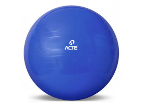 Bola de Pilates Ginastica Gym Ball 65 Cm - Azul T9 - Acte Sports