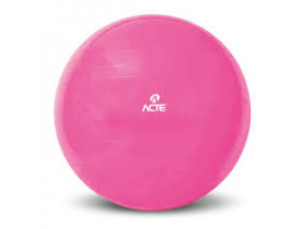 Bola de Ginástica Gym Ball 65cm Rosa Acte Sports Bola de Ginástica Gym Ball 65cm Rosa Acte Sports