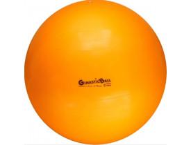 Bola para Exercícios Gynastic Ball 75cm Laranja - Para Ginástica Pilates e Yoga