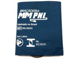 Braçadeira Manguito PNI Obeso para Monitor Philips HP Kit Completo Mangueira PNI 2,5m e Conectores