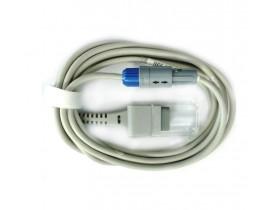 Pré-cabo de Oximetria SPO2 Compatível Mindray MEC 100, MEC 200, MEC 2000, PM 7000, 6201, PM 8000, PM 9000, VS-800