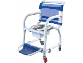 Cadeira de Banho Higiência em PVC Carcilife com braços escamoteáveis Carcilife 310CL - Carci