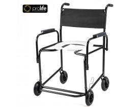 Cadeira de Banho Obeso Flex - 130kg - Largura 52 cm - Braços Escamoteáveis