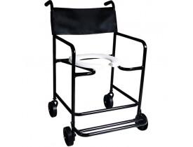 Cadeira de Banho Obeso - Pés Escamoteáveis - 130 kg