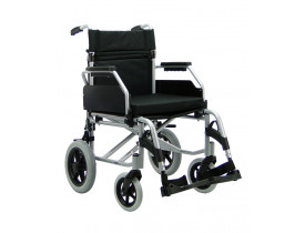 Cadeira de Rodas Barcelona Tam. 18 Alumínio 115Kg Praxis