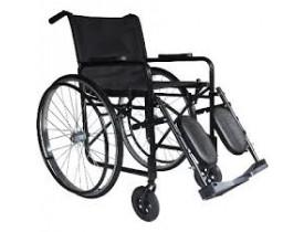 Cadeira de Rodas com Apoio de Perna Elevada - Pneu Maciço