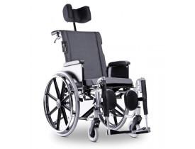 Cadeira de Rodas Ortobrás AVD Aluminio - Reclinável - 120 kg
