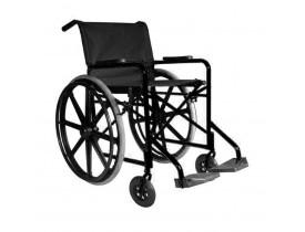 Cadeira de Rodas - RX 80 - Nylon - 110kg-Maciço