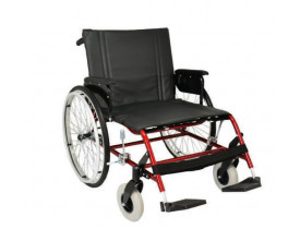 Cadeira de Rodas Ortobras Gazela Obeso - 200 kg