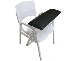 Cadeira para Coleta de Sangue - Assento Plástico - Apoio Estofado
