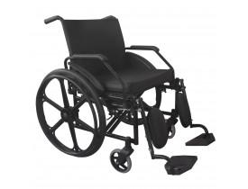 Cadeira de Rodas Obeso 140 kg Dobrável Active Max com Elevação de Pernas