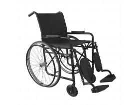 Cadeira de Rodas RX 60 Apoio de Pés Elevável e Removível c/ Pneu Inflável