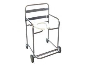 Cadeira de Banho Aço Inox Cap. 120kg