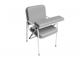 Cadeira para Coleta de Sangue para Laboratórios Comfort Cap. 150kg