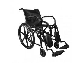 Cadeira de Rodas RX 60 Apoio de Pés Elevável e Removível c/ Pneu Maciço