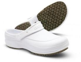 Sapato Clog Unissex EVA com Solado Antiderrapante BB60 Branco - Soft Works