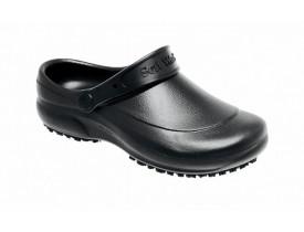 Sapato Profissional Clog Unissex EVA com Solado Antiderrapante BB60 Preto - Soft Works