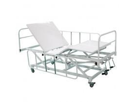 Cama Hospitalar Fawler Manual 3 Manivelas com Elevação de Leito
