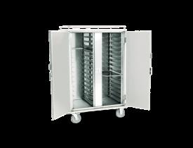 Carro Térmico em Aço Inox para Transporte de Alimentos - Bandejas