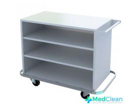 Carro Hospitalar para Transporte de Roupa Limpa e Lavanderia