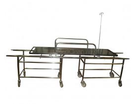 Carro Maca Para Transferência de Pacientes Obesos em Aço Inox