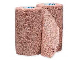 Bandagem Elástica Auto Aderente - Co-Plus BSN Medical  - 10cm x 2m - Cor da Pele