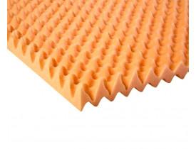 Colchão Caixa de Ovo para Prevenção de Escaras - Piramidal Solteiro - Dupla Face - Fibrasca