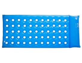 Colchão Anti Escaras Caixa de Ovo Aberto Inflável PVC Aquasonus