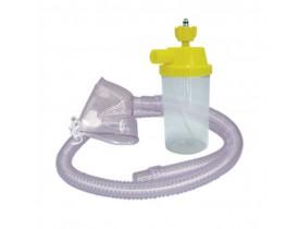 Conjunto para Nebulização Contínua PVC AR 1200mm e Máscara Adulto - Protec