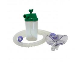 Conjunto para Nebulização Contínua Oxigênio O2 1200mm SIL com Máscara Adulto - Protec