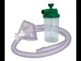 Conjunto para Nebulização Contínua Oxigênio com Traquéia PVC e Máscara Adulto Protec
