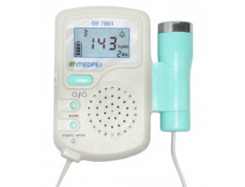 Doppler Detector Fetal Display Digital Portátil DF-7001-D