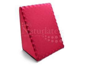 Encosto Triangular Anatômico Caixa de Ovo Visco Elástico Naturlatex