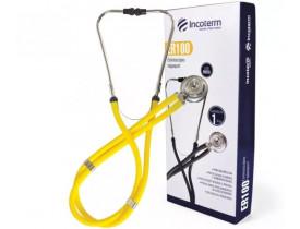 Estetoscópio Rappaport ER100 - Amarelo - Incoterm