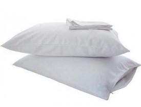 Capa Impermeável para Travesseiro com Ziper Protetor Siliconizado