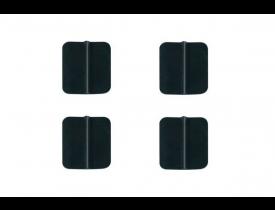 Eletrodo de silicone 3x5 cm - ES3050 - Pacote com 4 unidades - Carci
