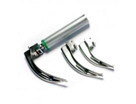 Laringoscópio Fibra Óptica e Led Missouri - Kit