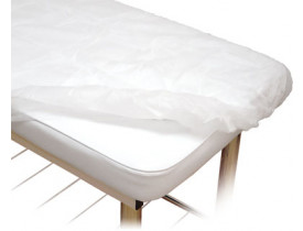 Lençol Descartável Com Elástico 20GM2 - 210 X 90 cm - Branco - Protdesc - Pacote com 10 Unidades