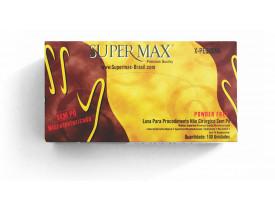 Luva para procedimento Não Cirúrgico sem pó – LÁTEX Supermax Powder Free