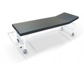 Maca Mesa de Exame Clínico com Rodízios e Suporte para Lençol - Capacidade 150 kg